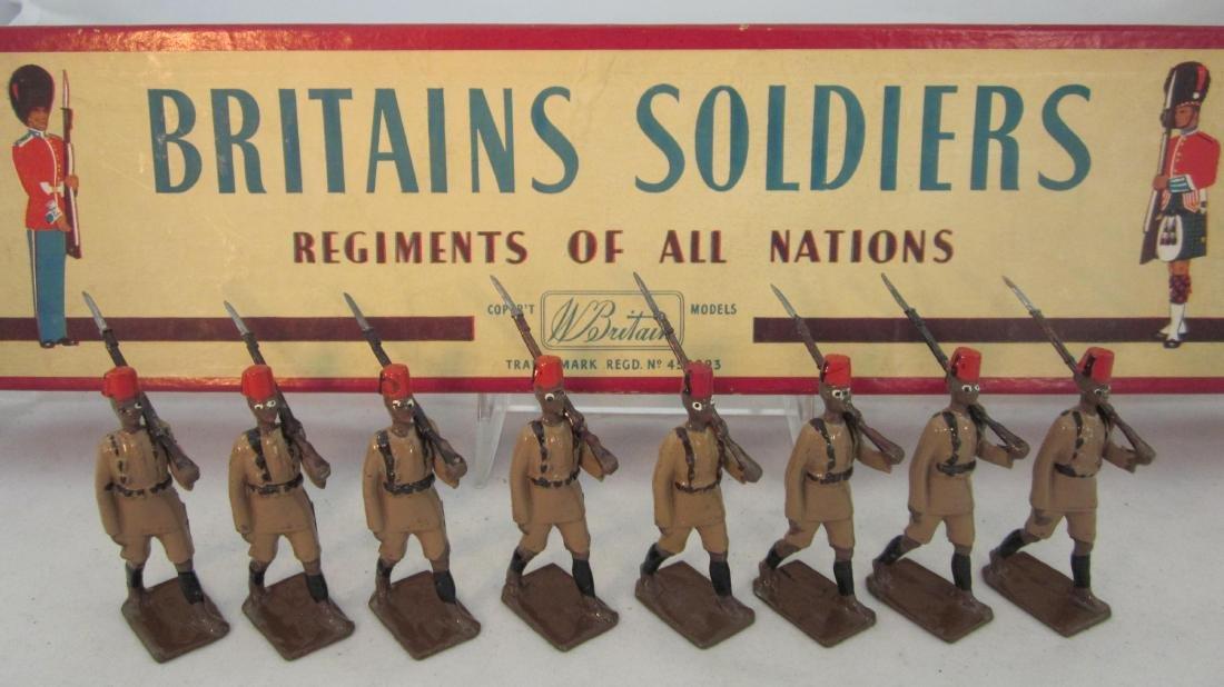 Britains Set #225 Kings African Rifles.