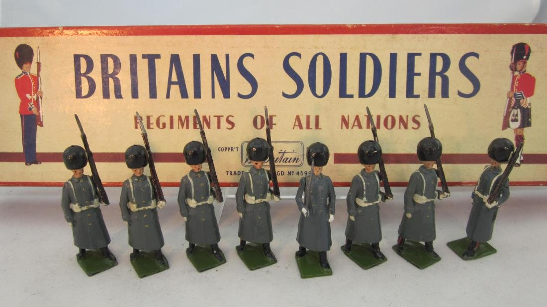 Britains Set #312 Grenadier Guards in Cloaks.