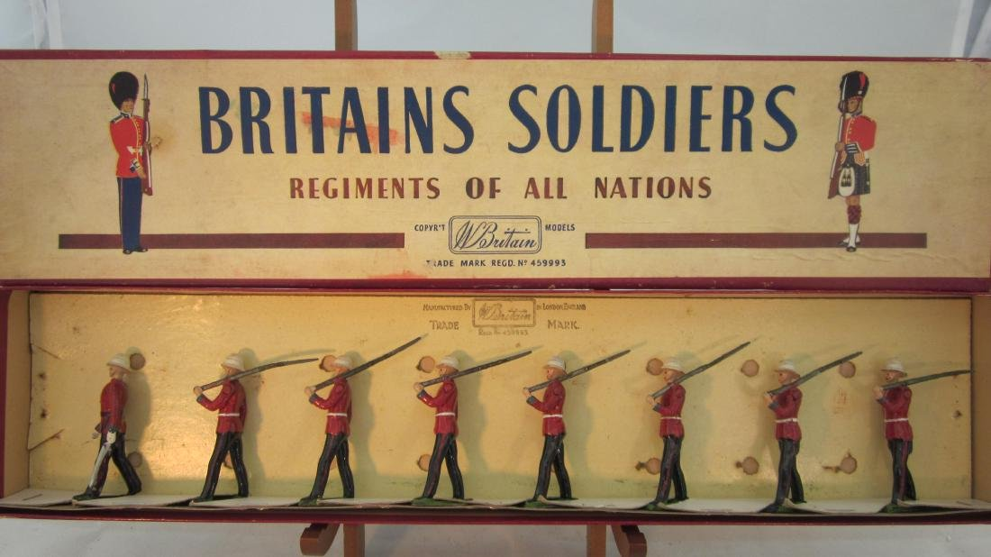 Britains Set #1633 Princess Pats Light Infantry.