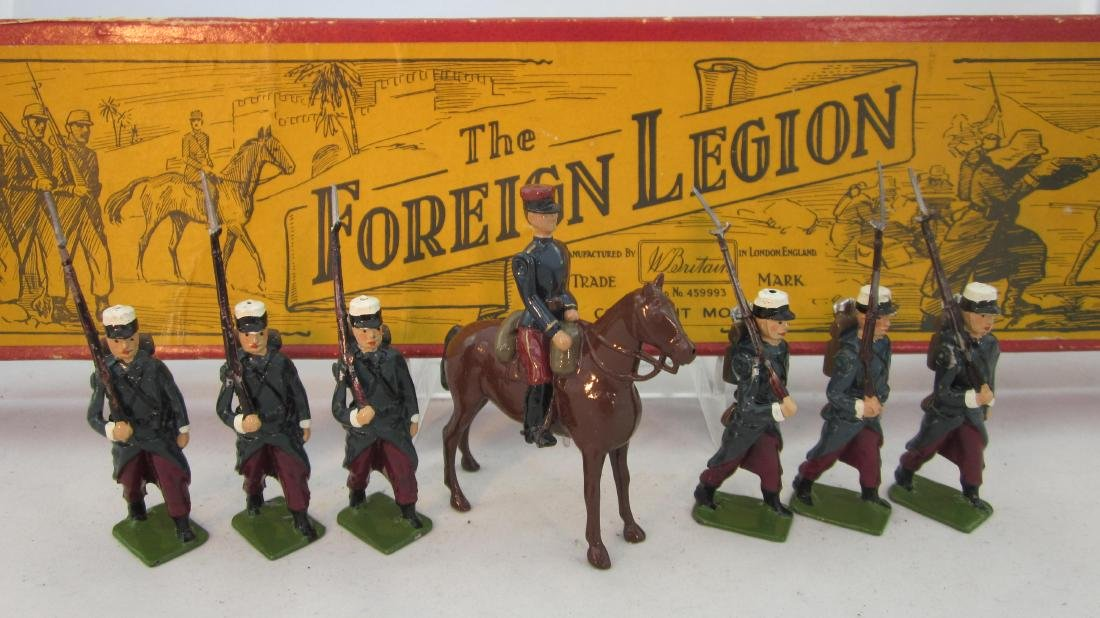Britains Set #1711 French Foreign Legion.