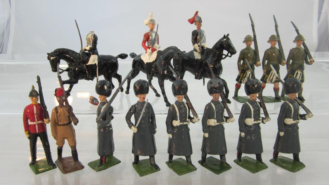 Britains Assorted Mounted & Infantry Figures.