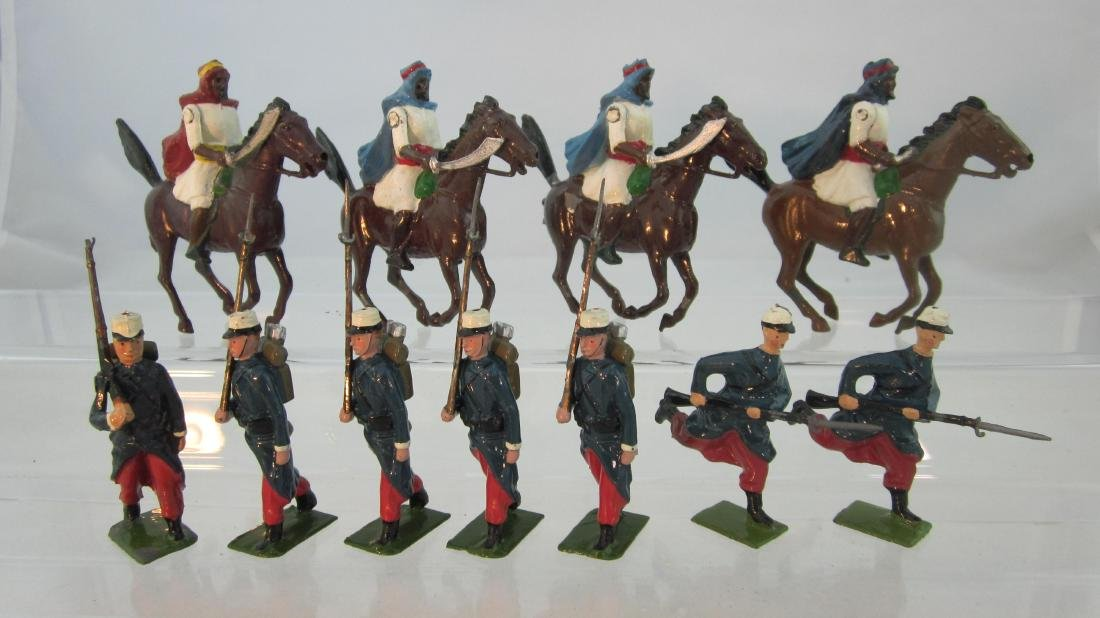 Britains Assorted Arabs & French Foreign Legion.