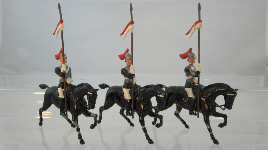 Britains #2085 HorseGuards with Lances.