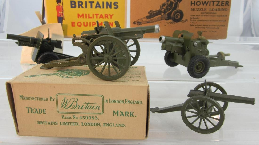 Britains Assorted Artillery.