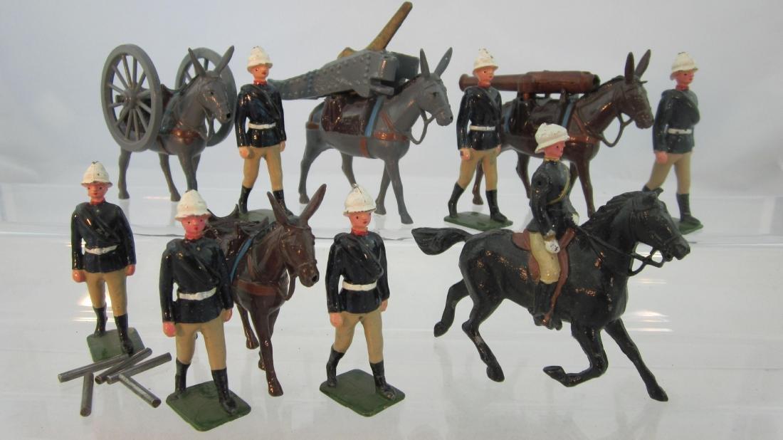 Britains Set #28 Mountain Artillery.