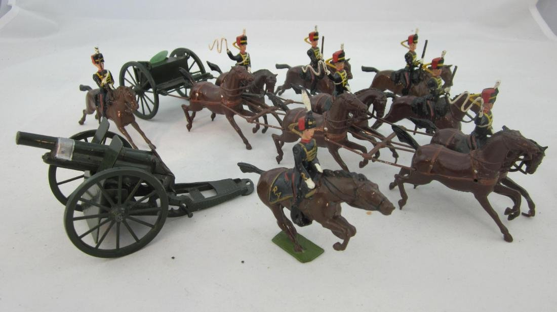 Britains Set #39 Royal Horse Artillery.