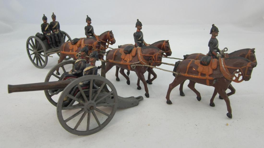 Britains Set #144 Royal Field Artillery at Walk.