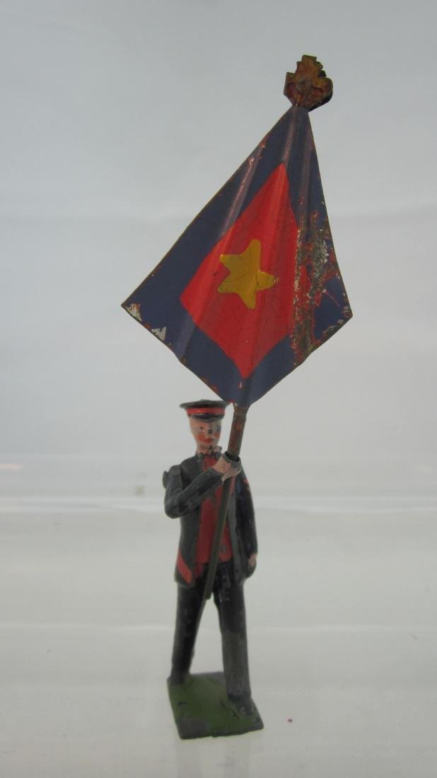 Britains #1316 Salvation Army Flagman in BLUE.