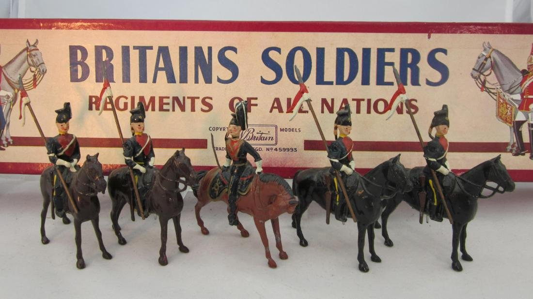 Britains Set #24 9th Lancers