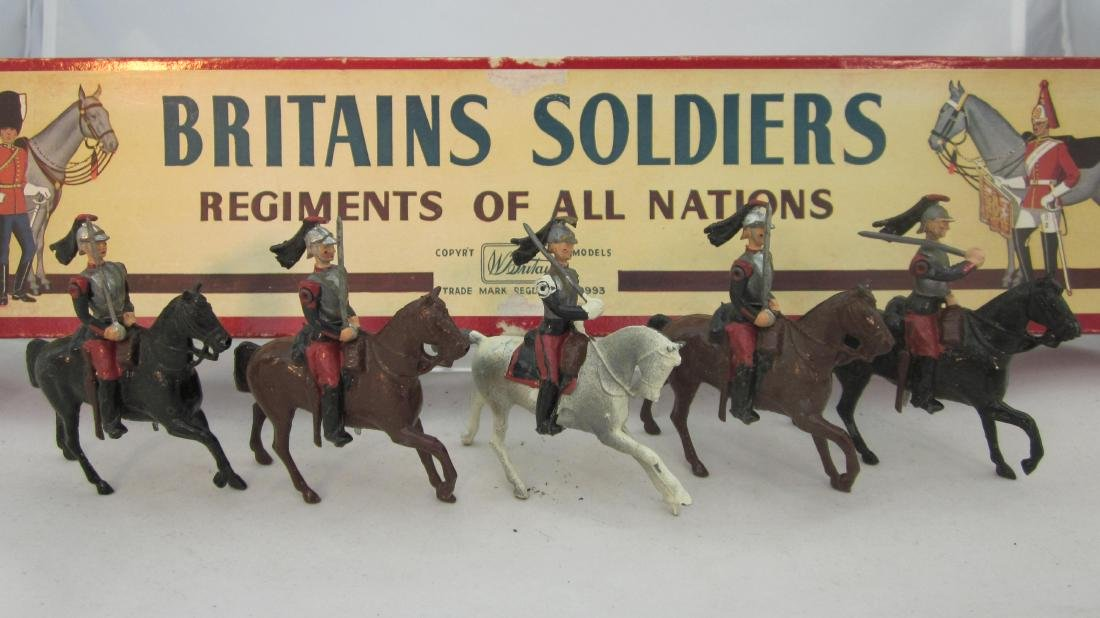 Britains Set #138 French Cuirassiers.