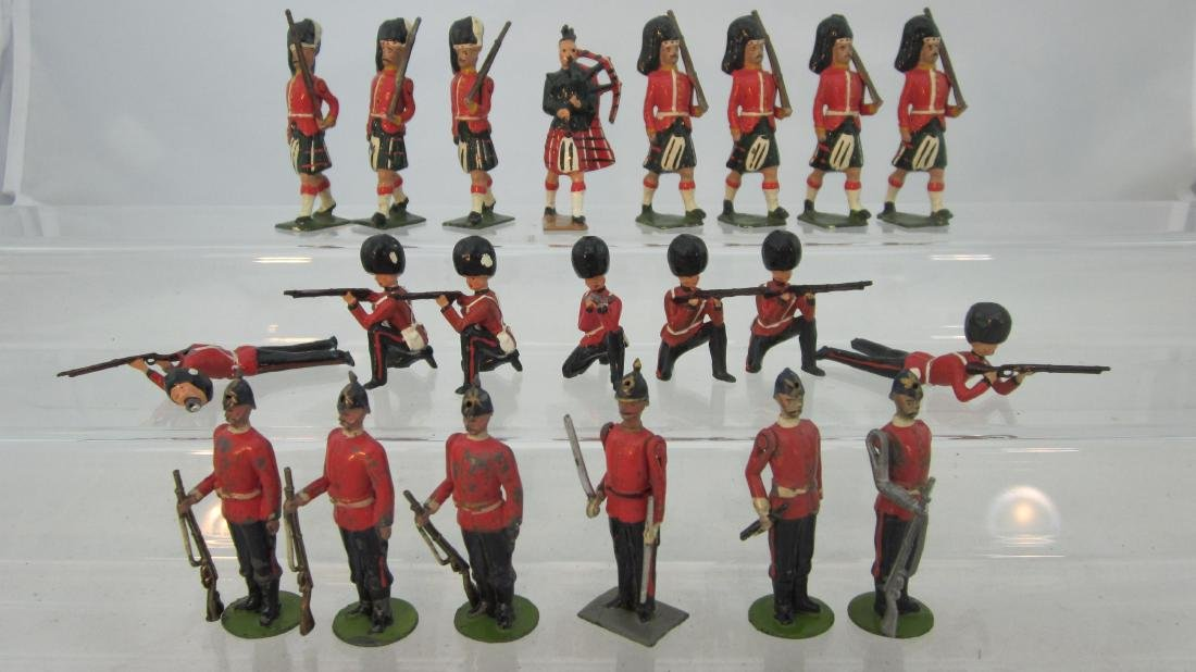 Britains Assorted Redcoats.