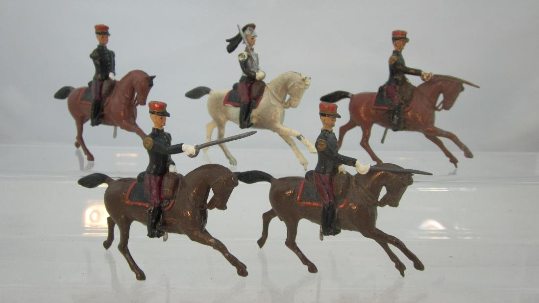 Britains Assorted French Cavalry Officers.