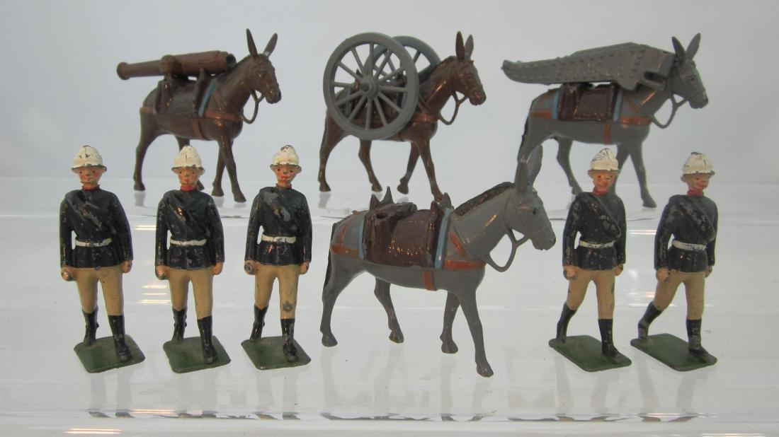 Britains #28 Mountain Artillery.