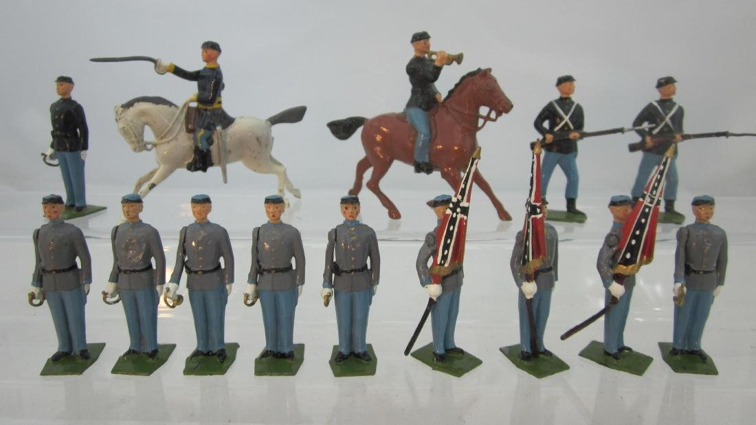 Britains Assorted American Civil War Figures.