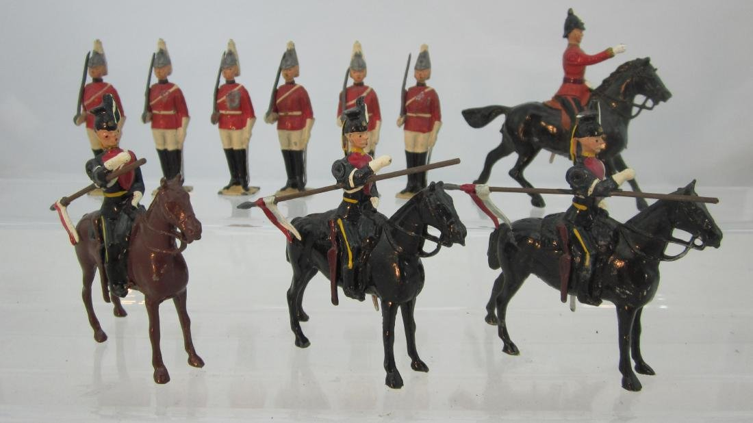 Britains Assorted British Cavalry Units.