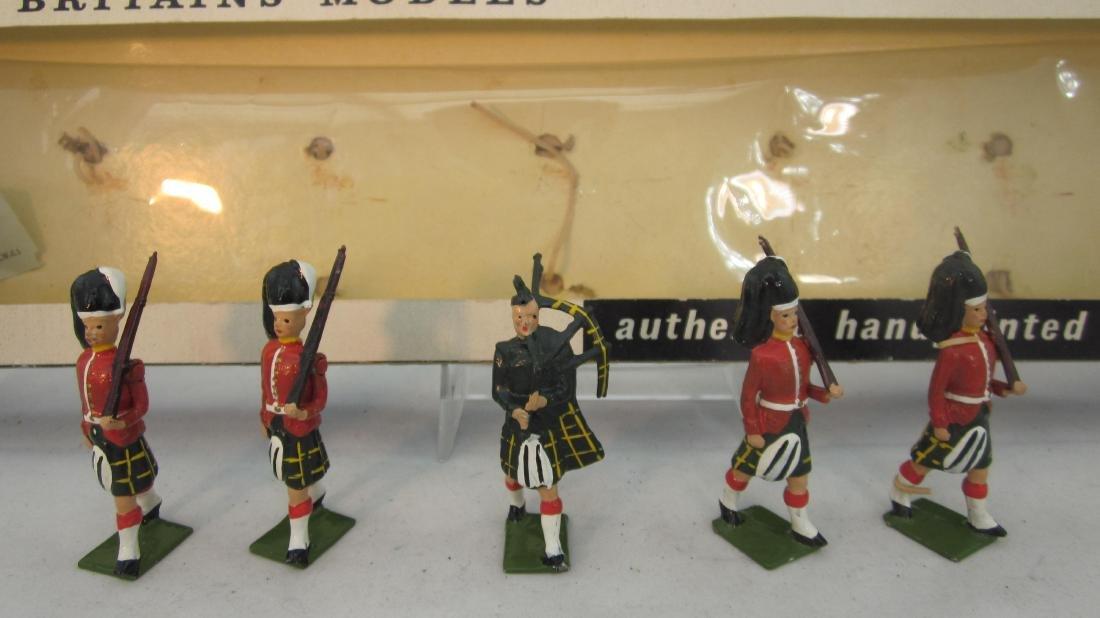 Britains Set #9131 Gordon Highlanders.
