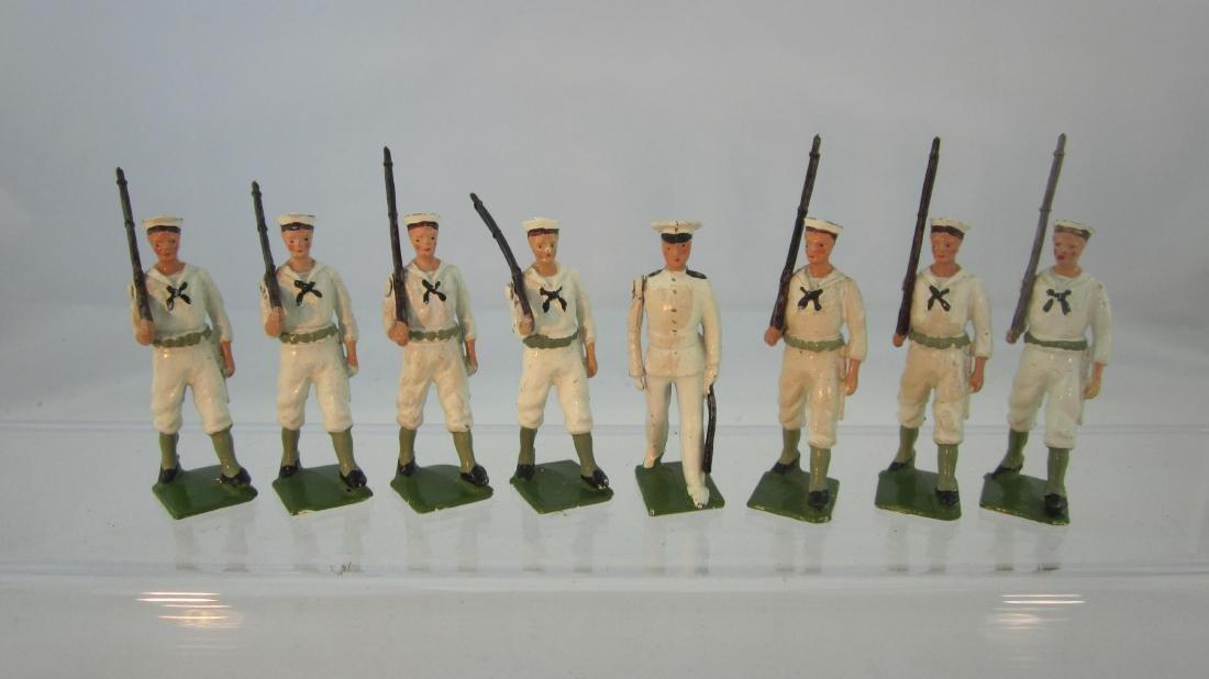 Britains Set #1253 U.S. Navy Whitejackets.