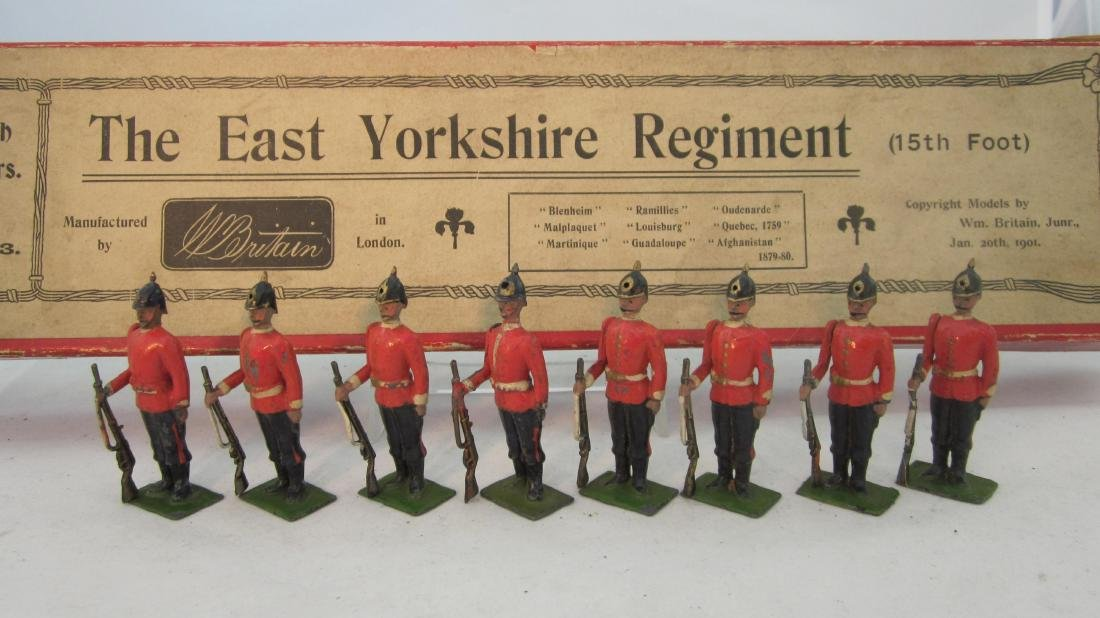 Britains Set #113 East Yorkshire Regiment.