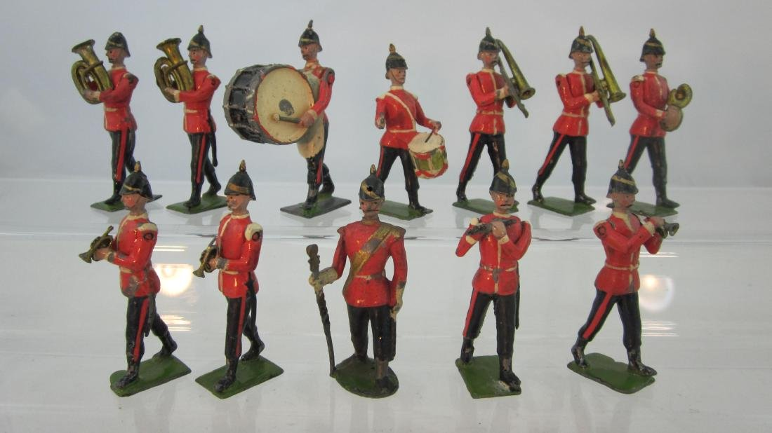 Britains Set #27 Dated 1911 Band of the Line.