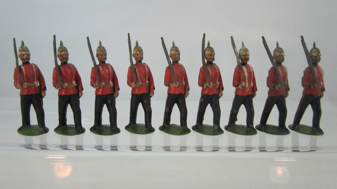Britains Set #36 Royal Sussex Regiment, 1895.