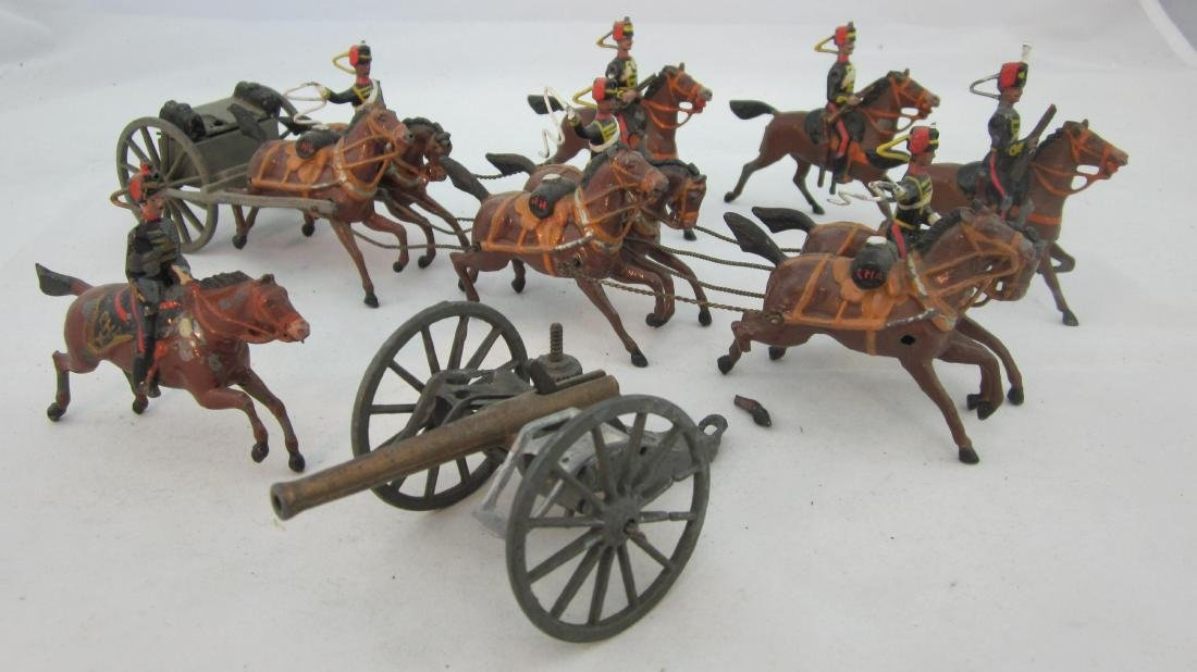 Britains Set 39 Royal Horse Artillery circa 1904