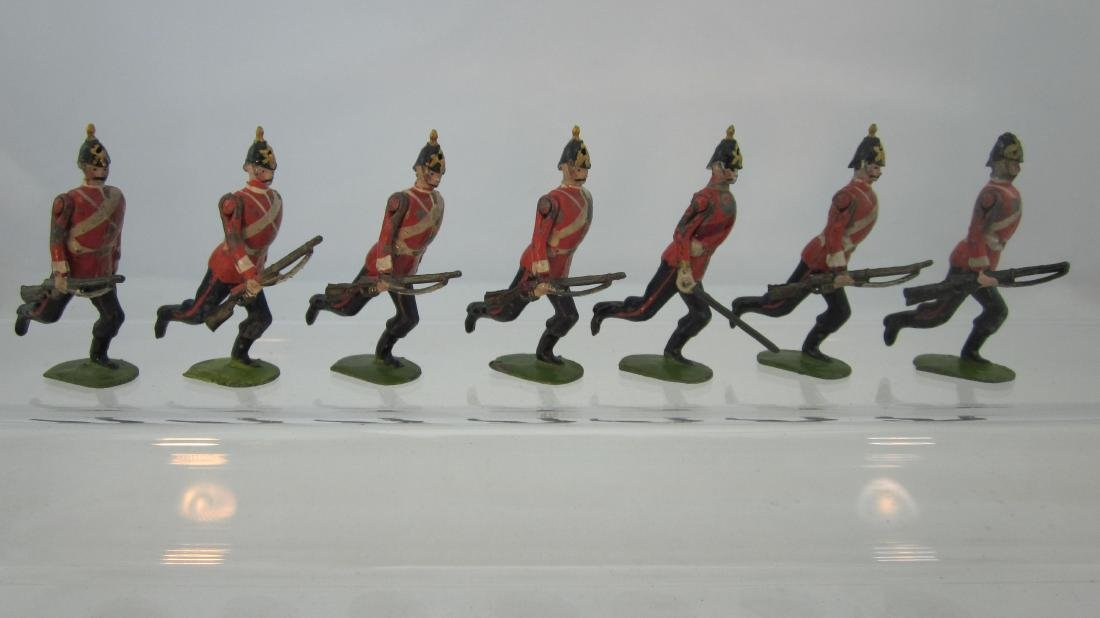 Britains Set #96 York & Lancaster Regiment.