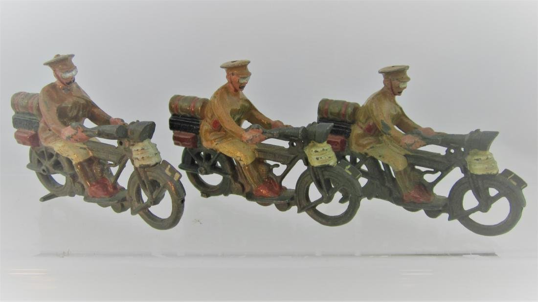 Britains #200 Motor Dispatch Riders.