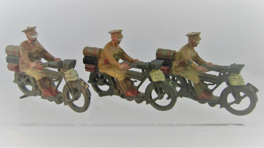 Britains #200 Motor Dispatch Riders.