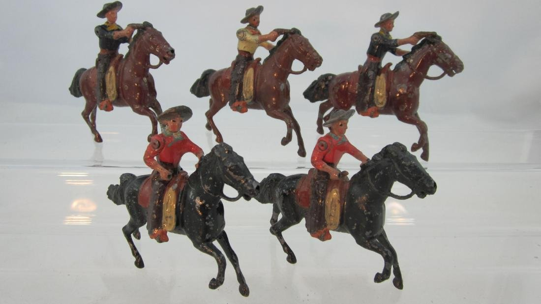 Britains Set #179 American Mounted Cowboys.