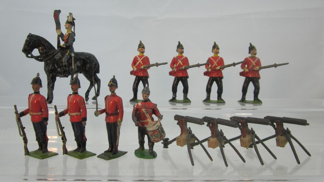 Britains Assorted Very Early British Troops.
