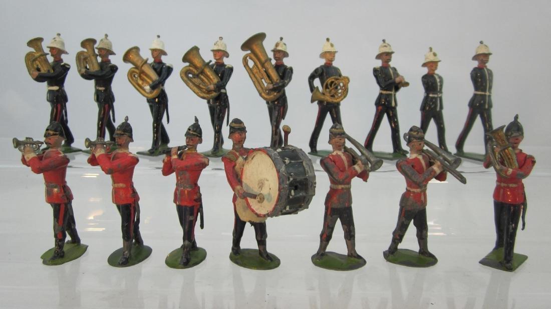 Britains from #27 & #1291 British Bandsmen Medley.