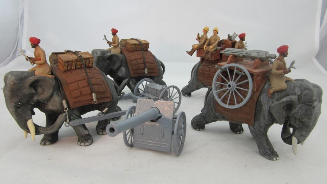 Elephant Artillery & Machine Gun Battery.