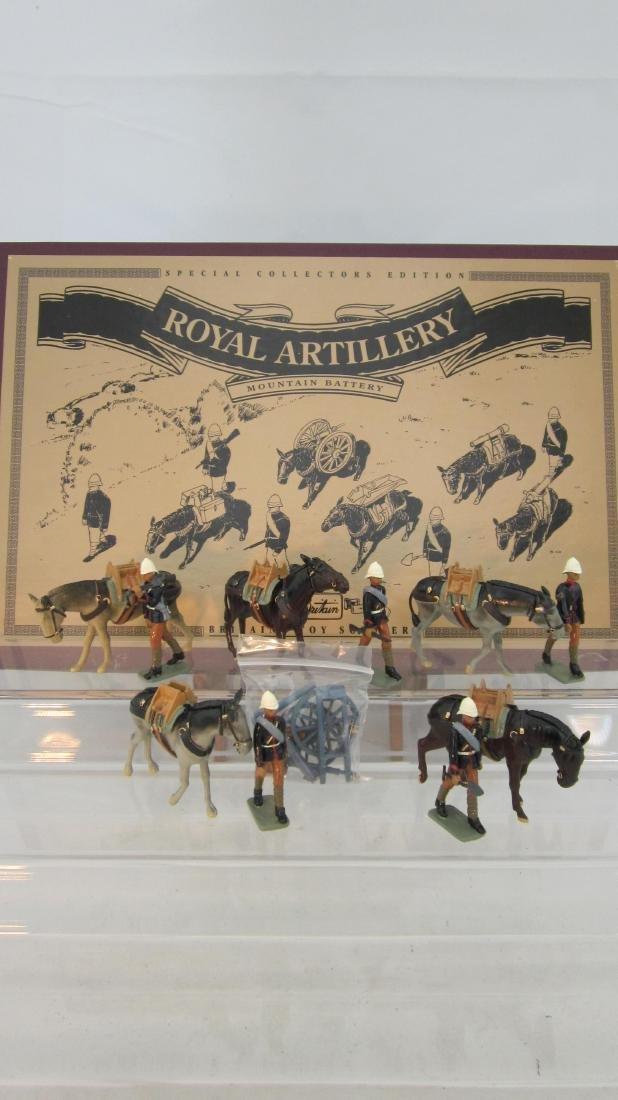Britains Set #8857 Royal Mountain Artillery.