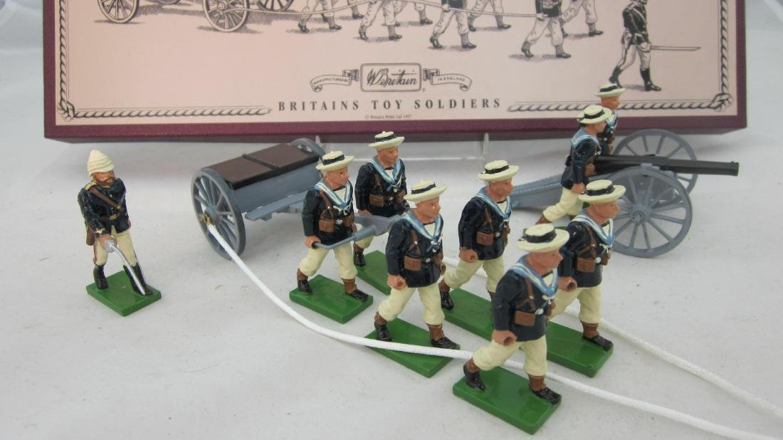 Britains Set #8898 Royal Naval Landing Party.