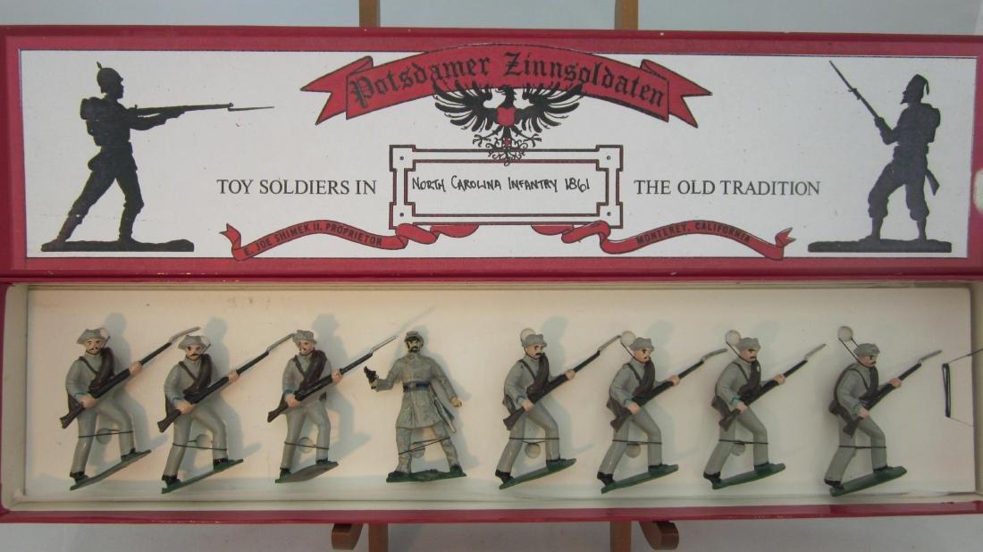 Potsdamer Zinnsoldaten No. Carolina Infantry.