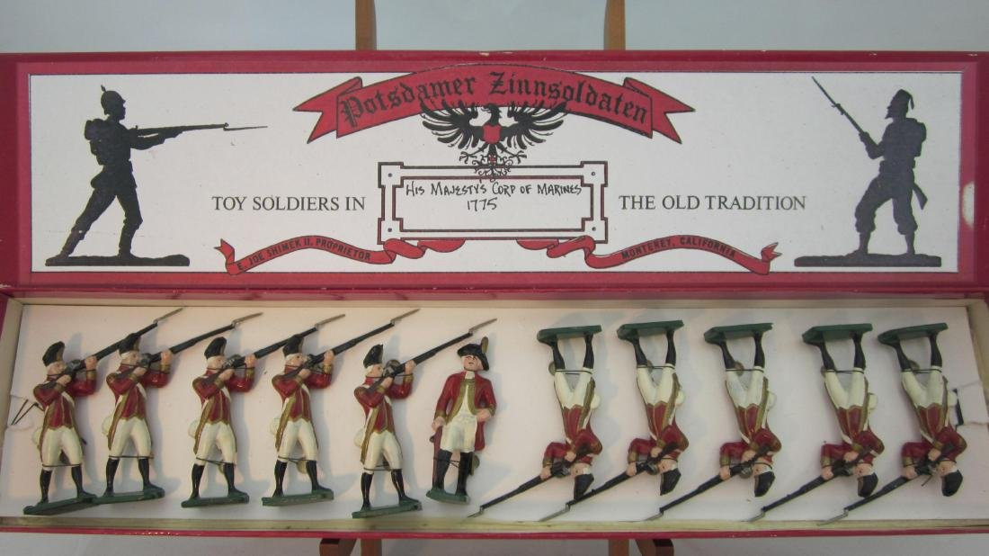 Potsdamer Zinnsoldaten Corp of Marines 1775