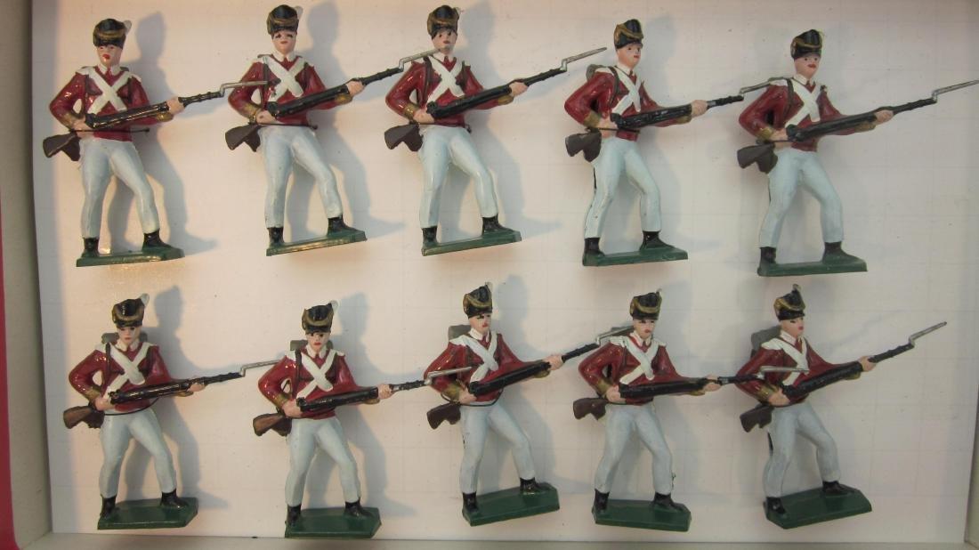 Potsdamer Zinnsoldaten British Infantry 1812.