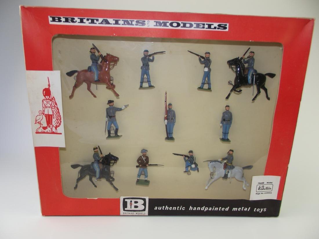 Britains ACW Confederate Infantry