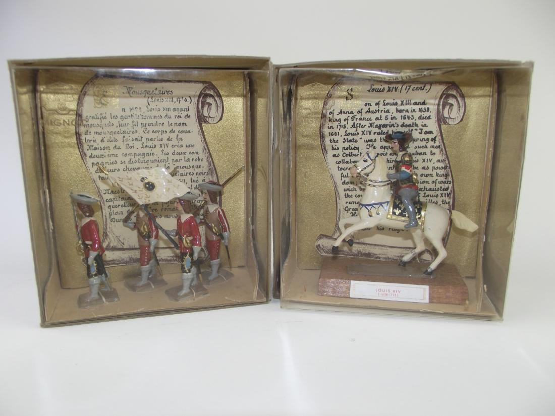 Mignot Single Pack Figures Two Sets