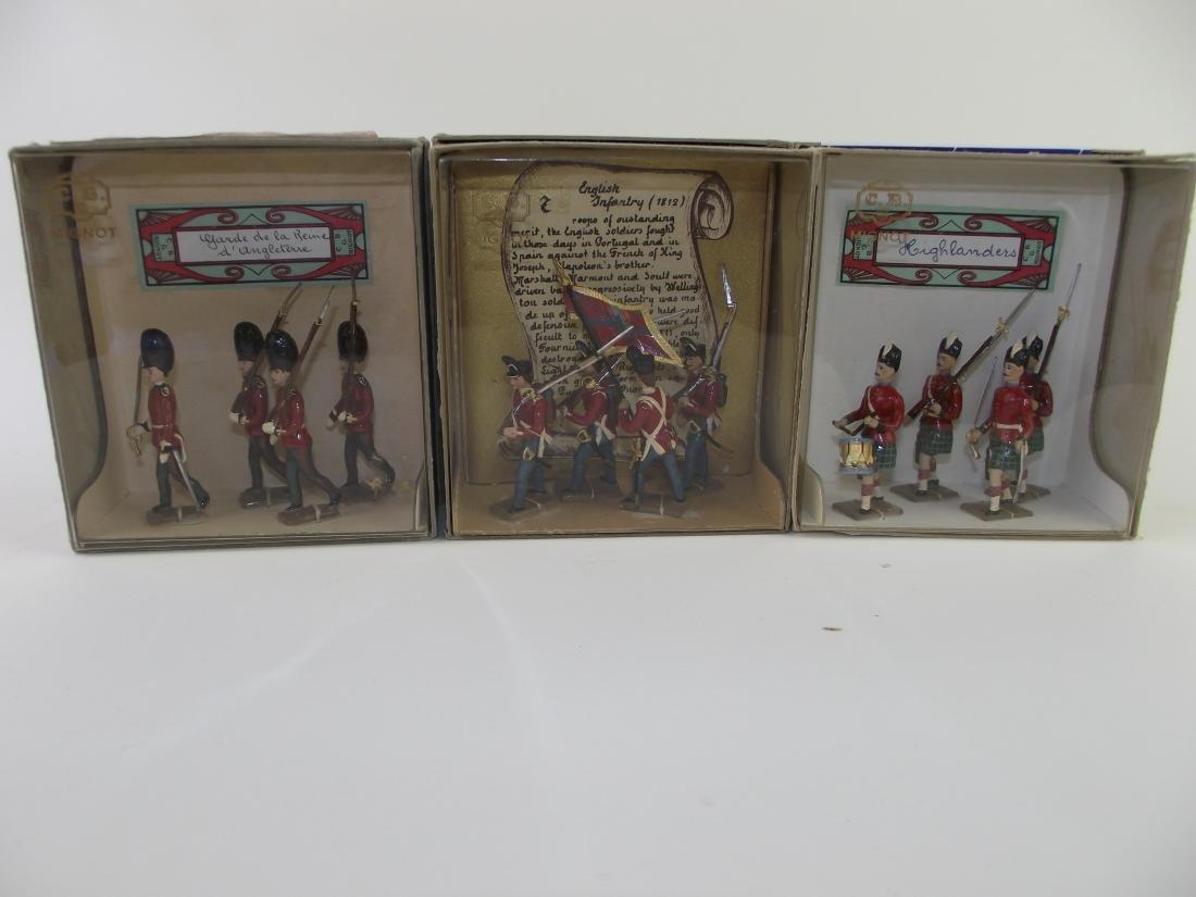 Mignot Single Pack Figures Three Sets British