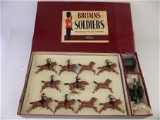 Britains  9419 Royal Horse Artillery Gun  Team