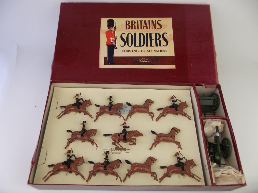 Britains # 9419 Royal Horse Artillery Gun & Team