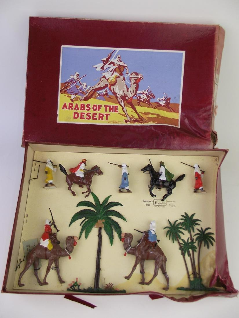 Britains # 9491 Arabs Mounted & Foot