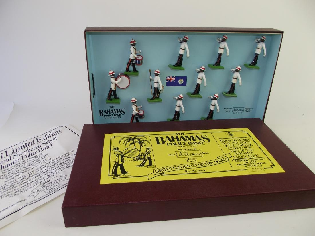 Britains Limited Ed. Bahamas Police Band