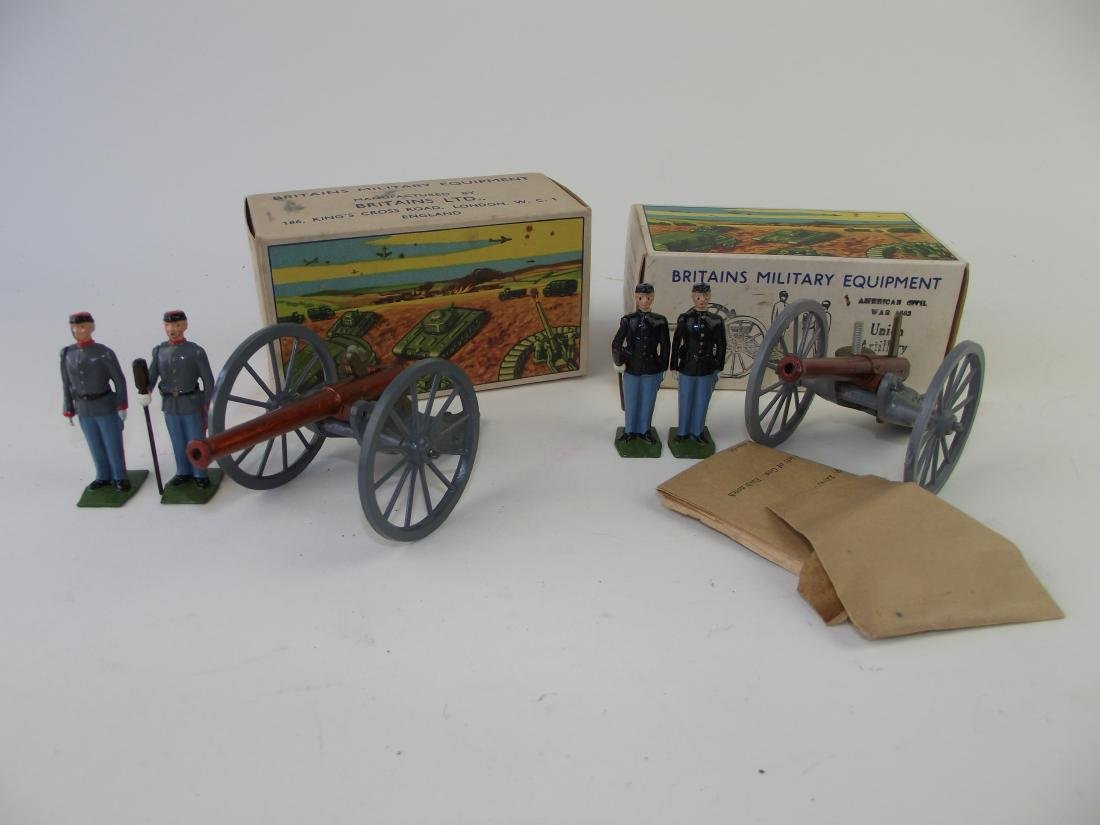 Britains American Civil War Artillery Group