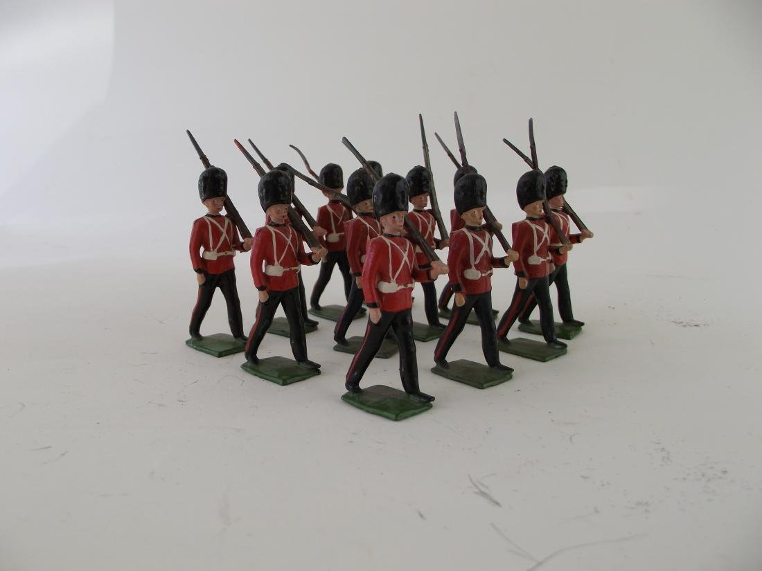 Britains from Set #74 Royal Welsh Fusiliers