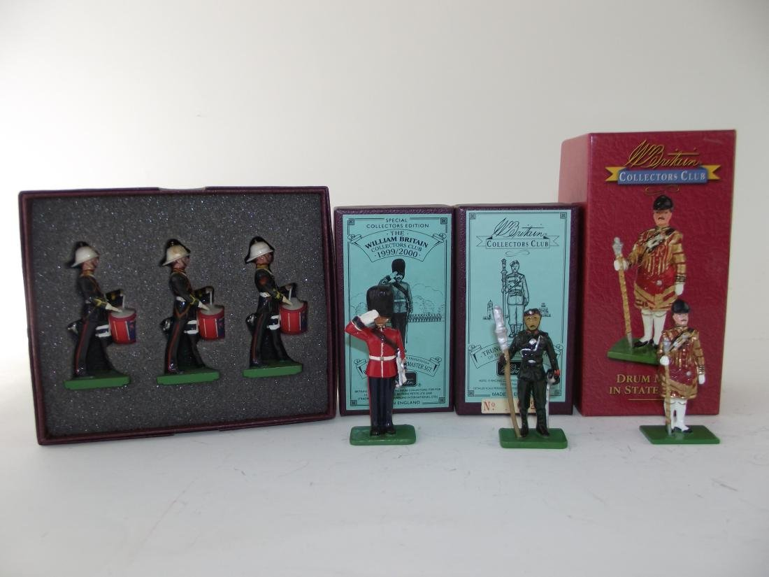 Britains Collectors Club Four Sets