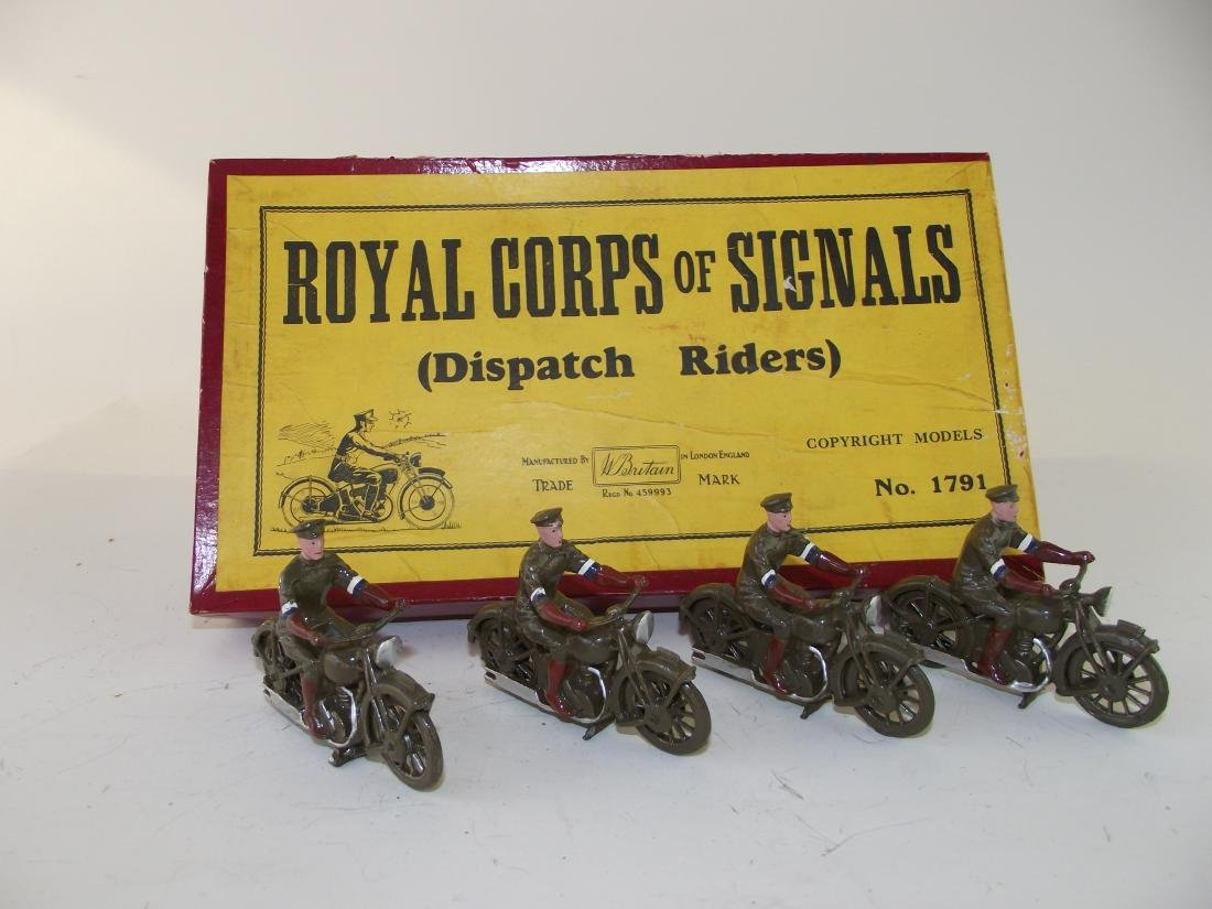 Britains Royal Corps of Signals Dispatch Riders