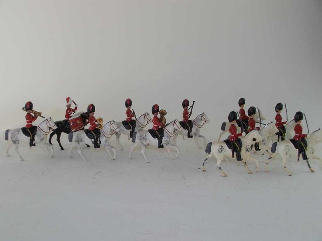 Britains Scots Greys Band and Escort