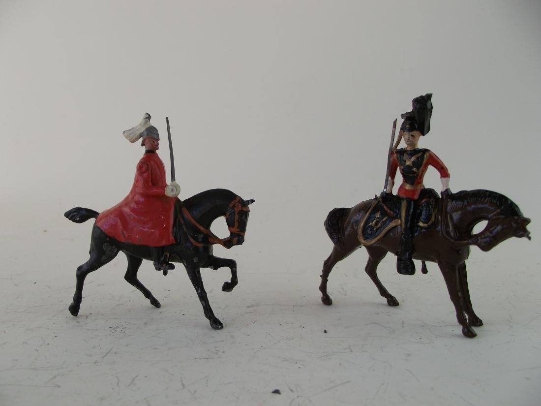 Britains Two British Officers Mounted